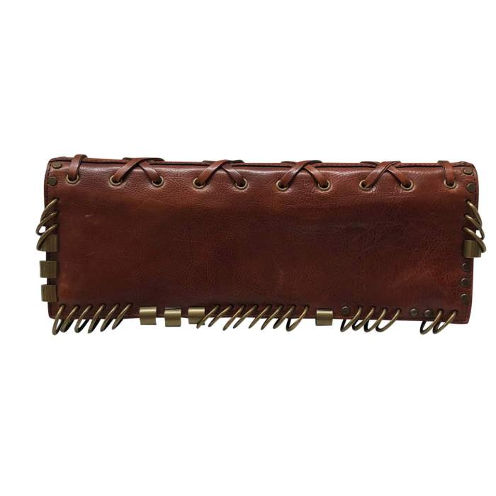 Brown leather Cluth-2
