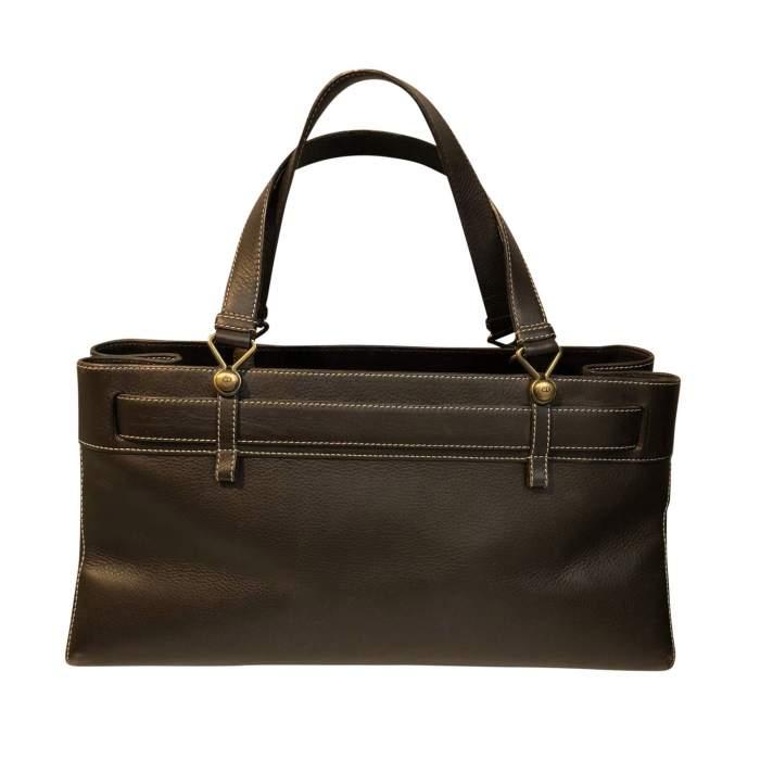 Chocolate leather Bag-2