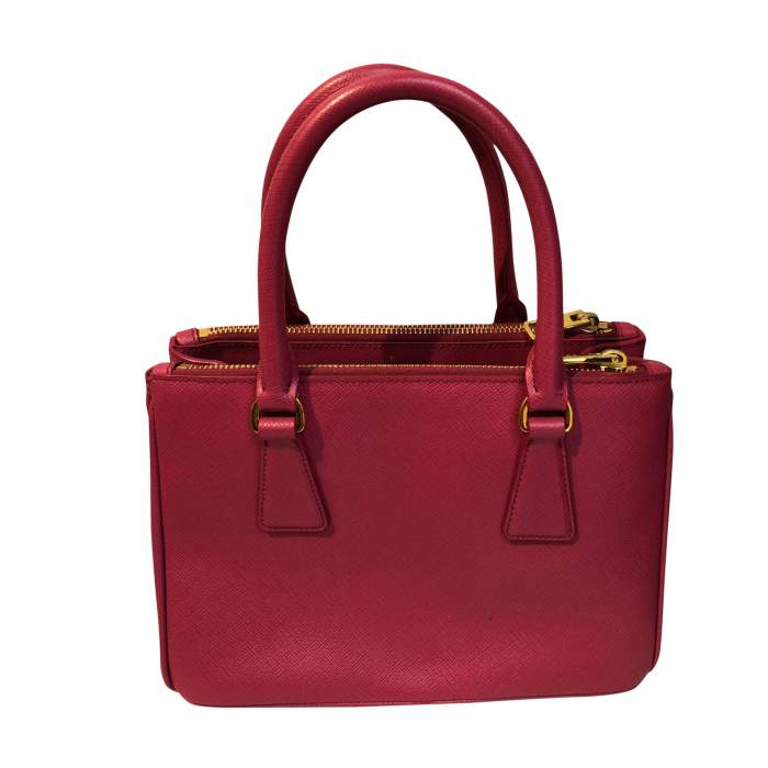 Pink small leather Bag-2