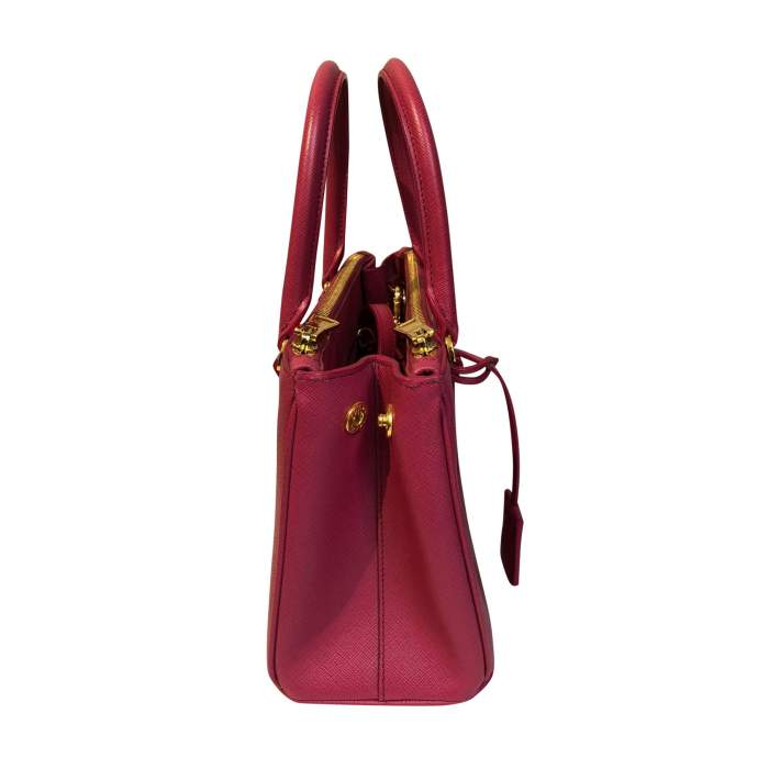Pink small leather Bag-4
