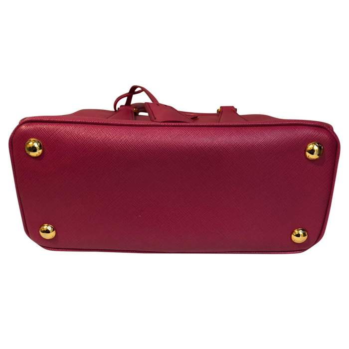 Pink small leather Bag-6