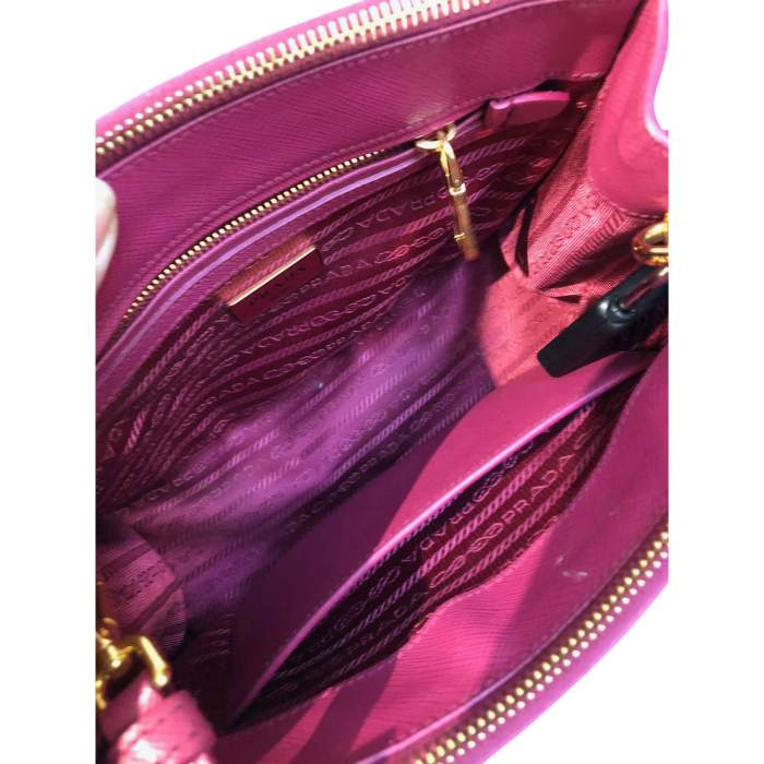 Pink small leather Bag-8