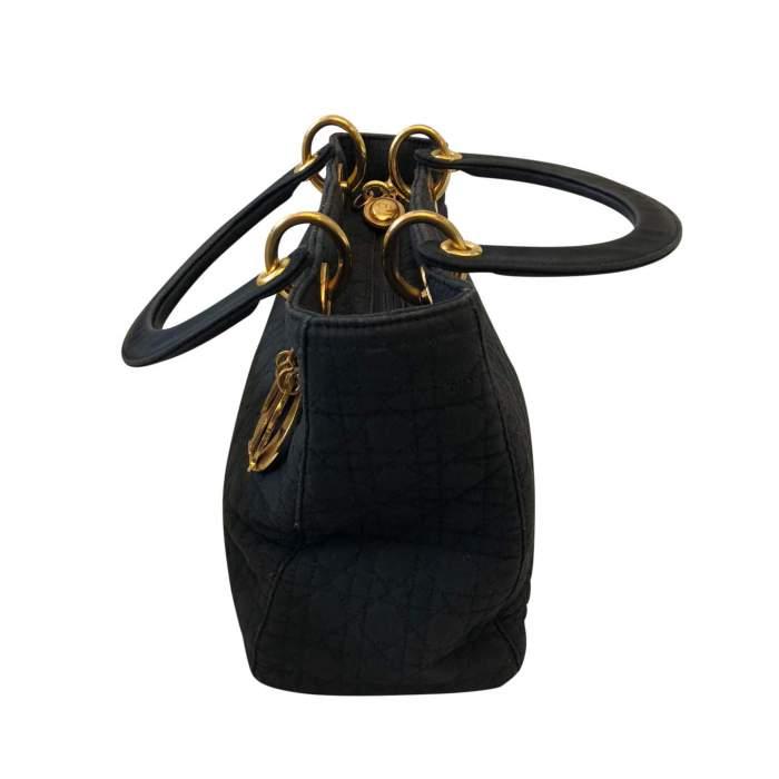 Coated canvas Handbag -4