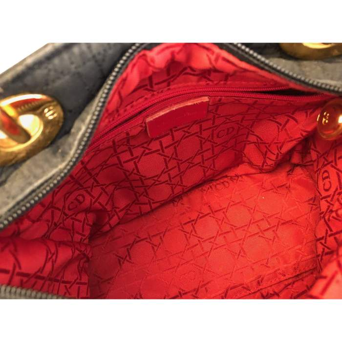 Coated canvas Handbag -8