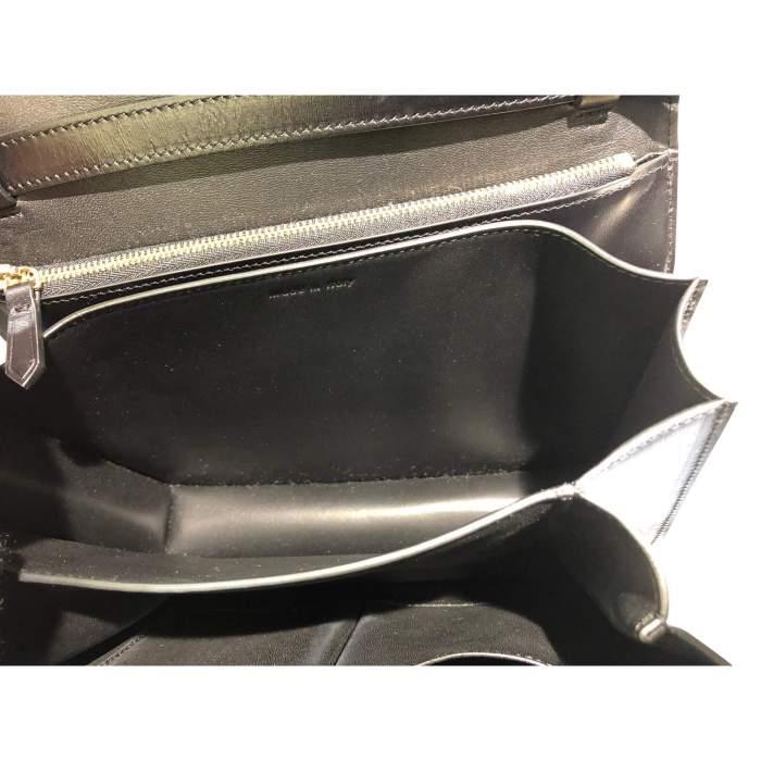 Black leather Bag-8