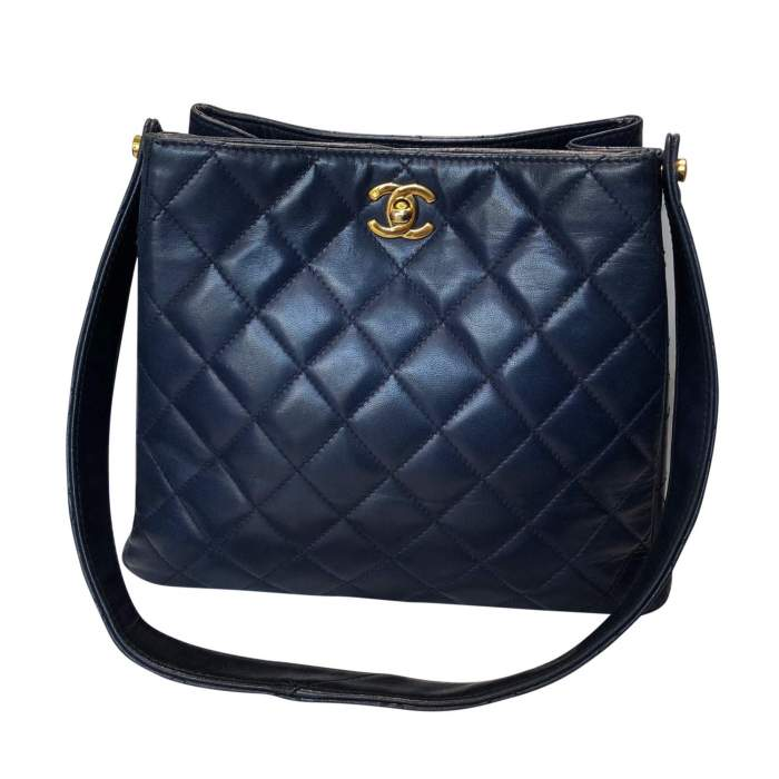 Quilted leather Bag-2