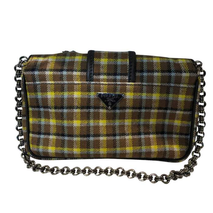 Small plaid wool Bag-2