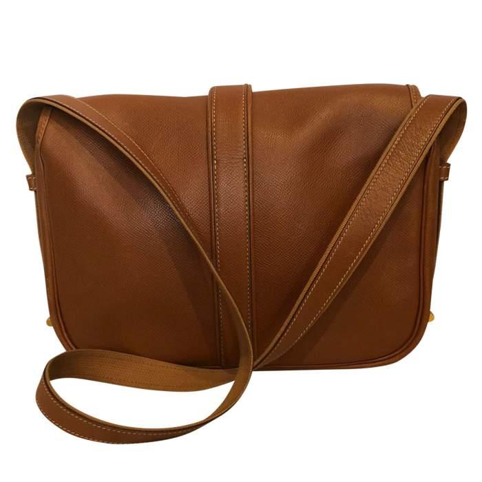 Gold leather man Bag-2