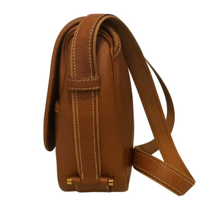 Gold leather man Bag-4