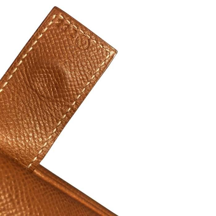 Gold leather man Bag-8