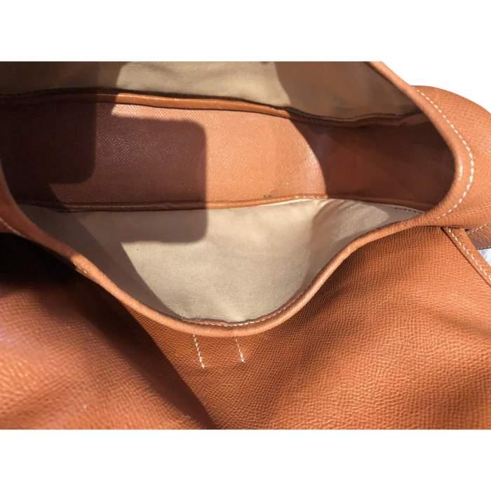 Gold leather man Bag-10