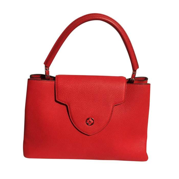 Red Capucine Handbag-0