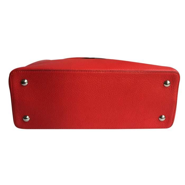 Red Capucine Handbag-8