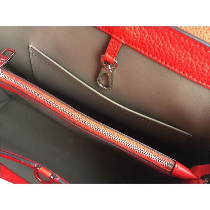 Red Capucine Handbag-10