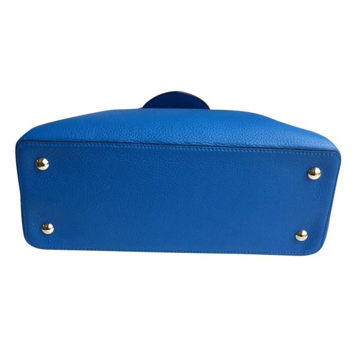 Blue Capucine Handbag-8