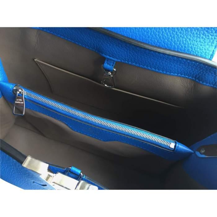 Blue Capucine Handbag-10
