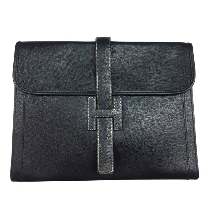 Leather documents Pouch-0