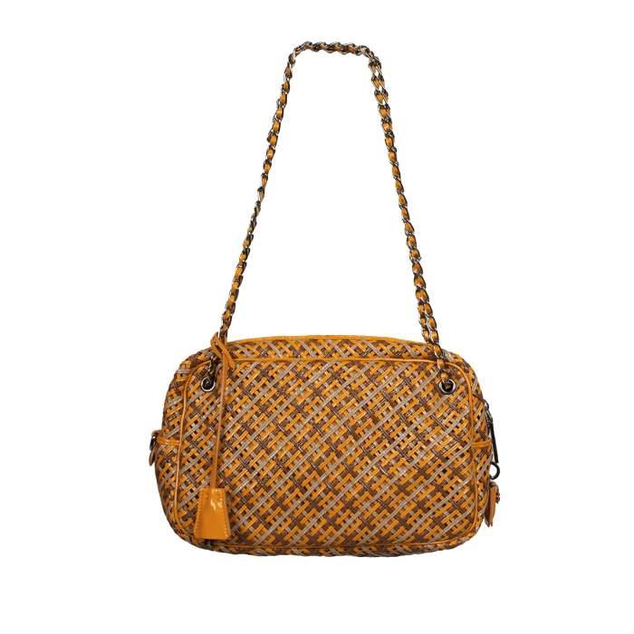 Braided leather Bag-2