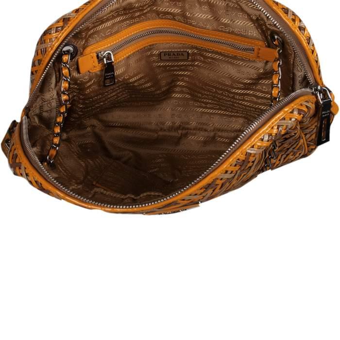 Braided leather Bag-8