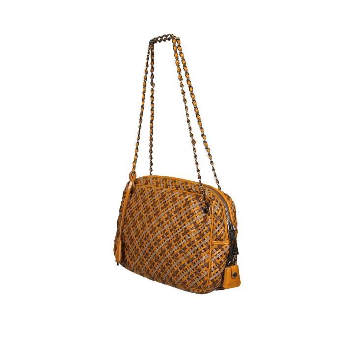 Braided leather Bag-4