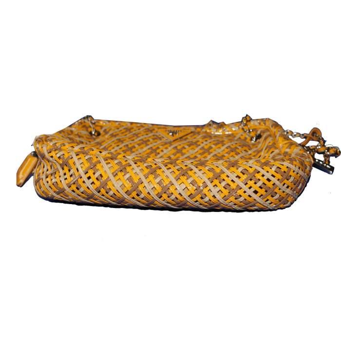 Braided leather Bag-6