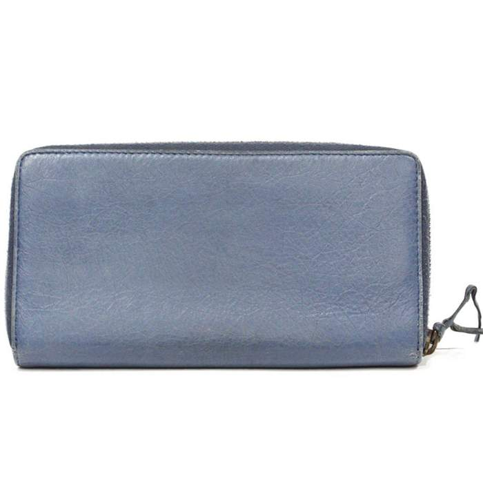 Blue leather Wallet-2