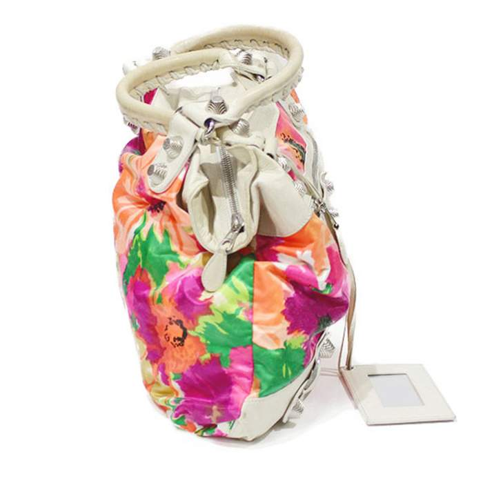 Flower leather Bag -4