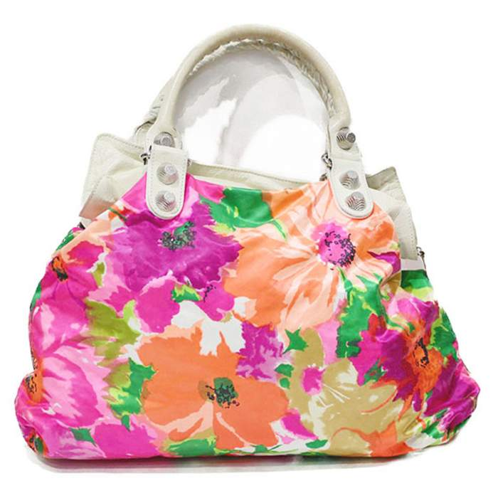Flower leather Bag -2