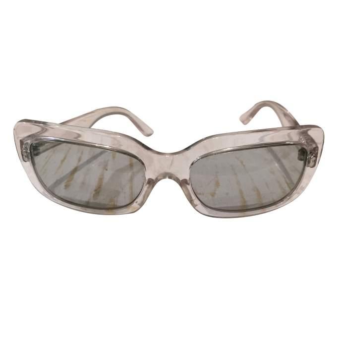 Transparent plastic Sunglasses-2