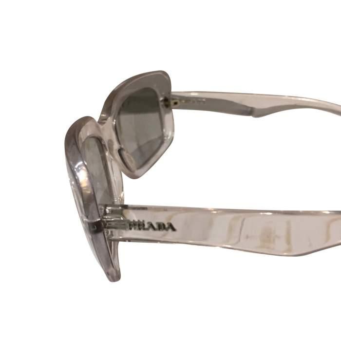 Transparent plastic Sunglasses-4