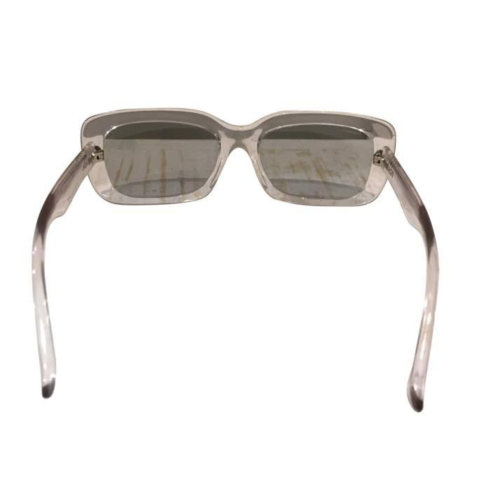 Transparent plastic Sunglasses-6