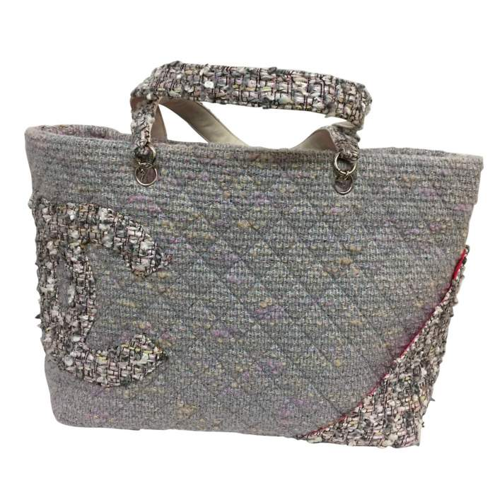 Collector tweed and lurex tote Bag-0