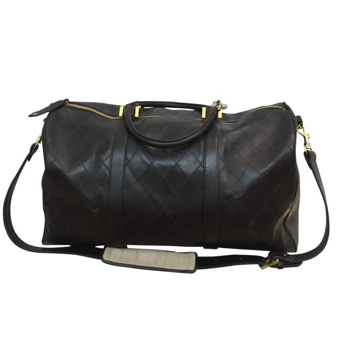 Leather weekend travel Bag-2