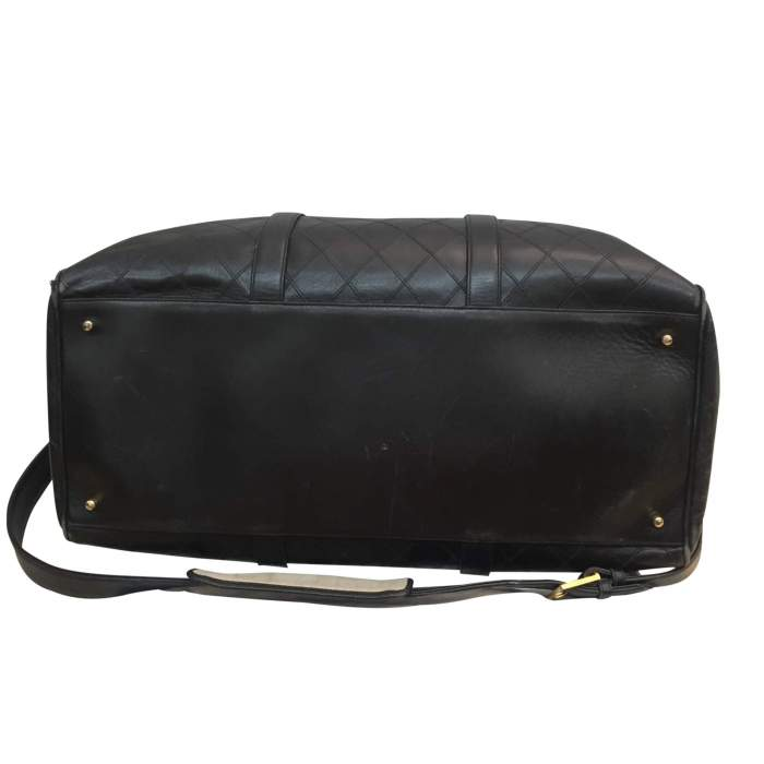 Leather weekend travel Bag-6
