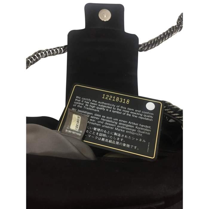 Black satin Clutch-6