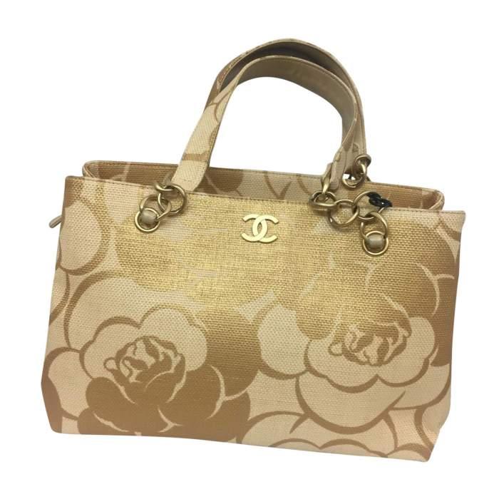 Camelia raffia Bag-0
