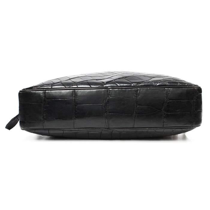 Vintage crocodile shoulder Bag-6