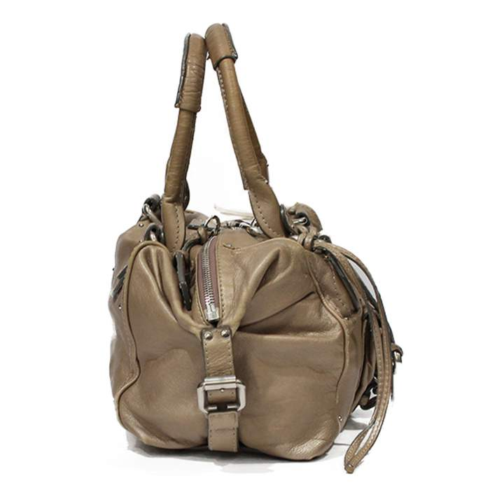 Beige Paddington Bag-4