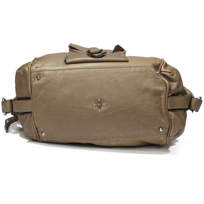Beige Paddington Bag-6