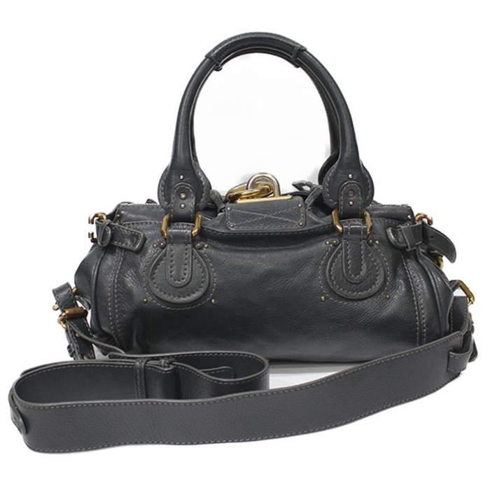 Gray paddington Bag-2