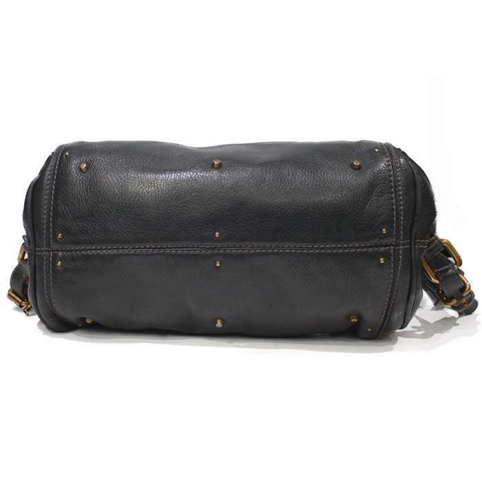 Gray paddington Bag-6