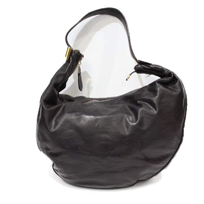 Chocolate leather Bag-2