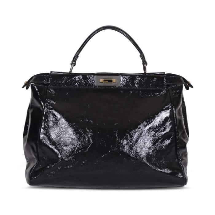 Peekaboo patent leather Bag -2