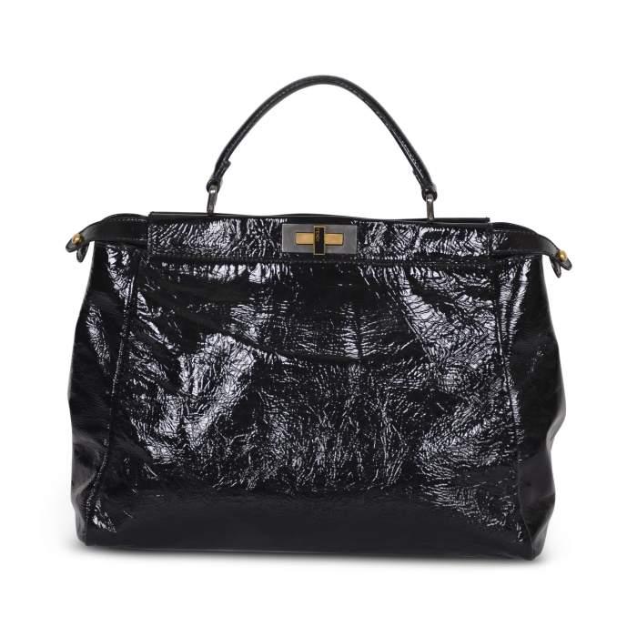 Peekaboo patent leather Bag -0