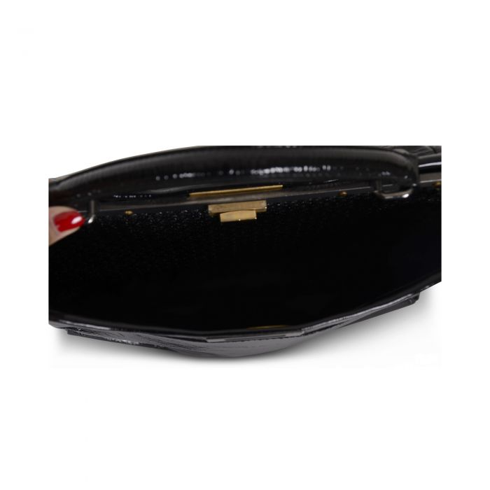 Peekaboo patent leather Bag -8