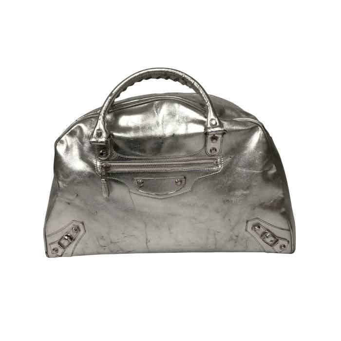 Metallic oversized Bag-0