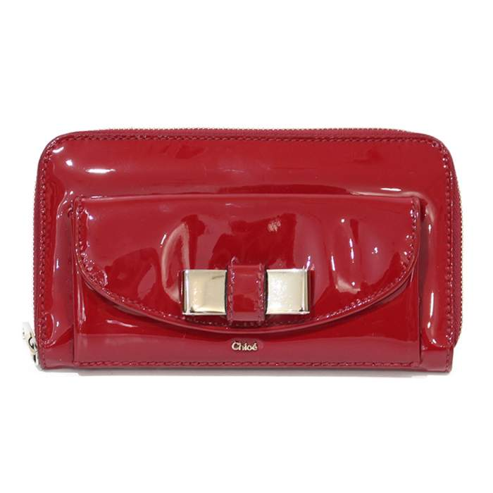 Red leather Wallet-0