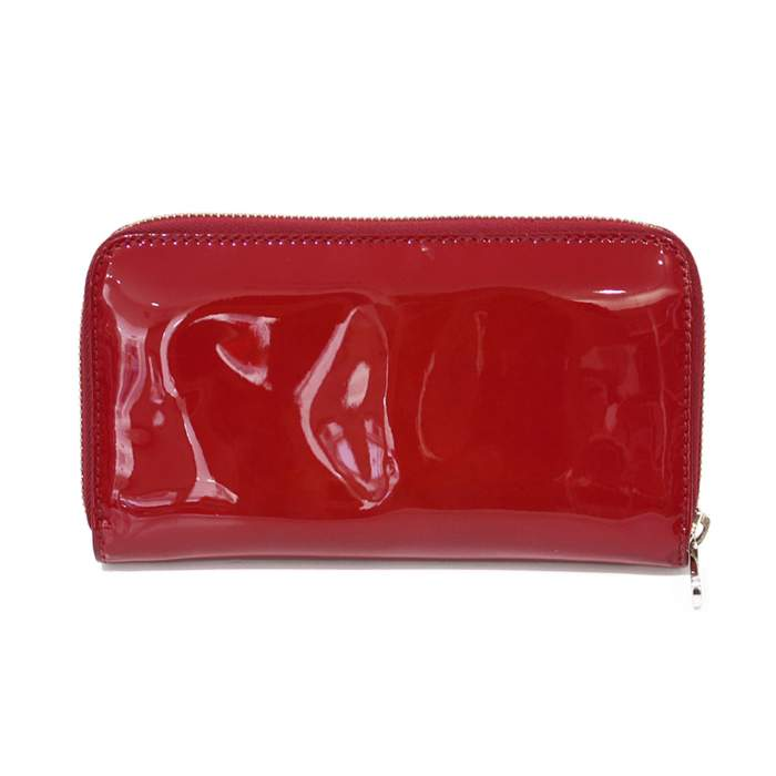 Red leather Wallet-2
