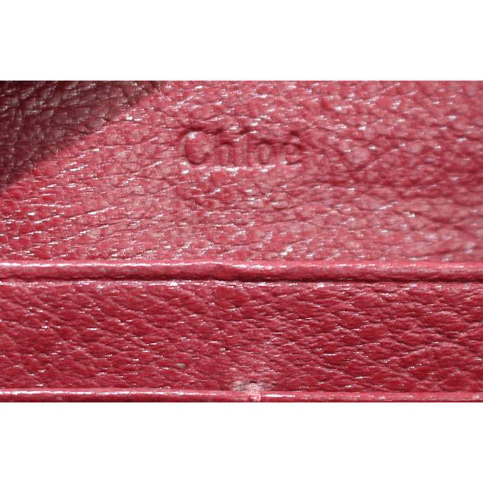 Red leather Wallet-8