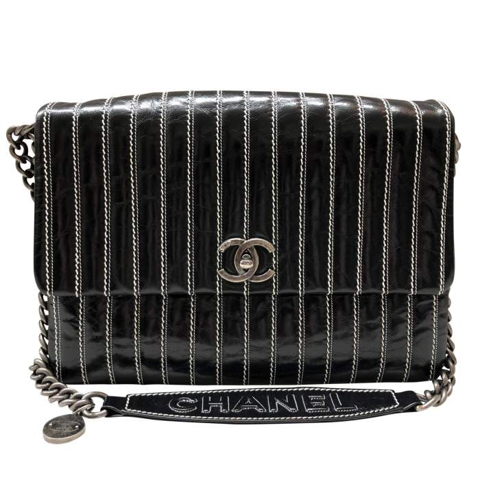 Leather flap Bag-0